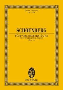 Fünf Orchesterstücke