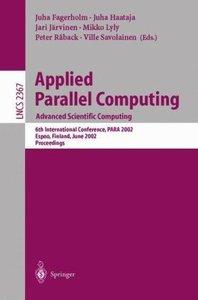 Applied Parallel Computing. Advanced Scientific Computing