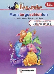 Leserabe 12. Lesestufe 1. Monstergeschichten