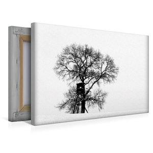 Premium Textil-Leinwand 45 cm x 30 cm quer Winterfarben