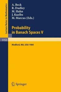 Probability in Banach Spaces V