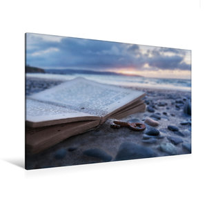 Premium Textil-Leinwand 120 cm x 80 cm quer Verloren