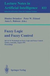 Fuzzy Logic and Fuzzy Control
