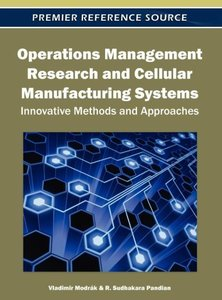 Operations Management Research and Cellular Manufacturing System