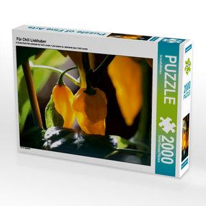 Für Chili Liebhaber 2000 Teile Puzzle quer