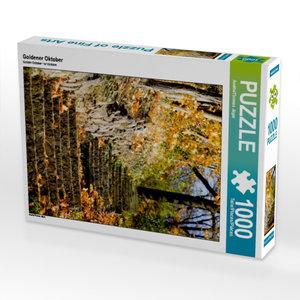 Goldener Oktober 1000 Teile Puzzle hoch