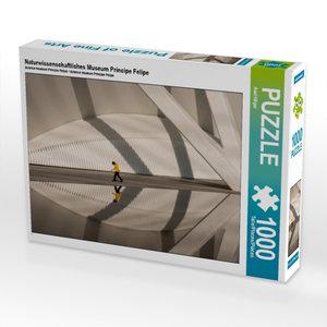 Naturwissenschaftliches Museum Príncipe Felipe 1000 Teile Puzzle