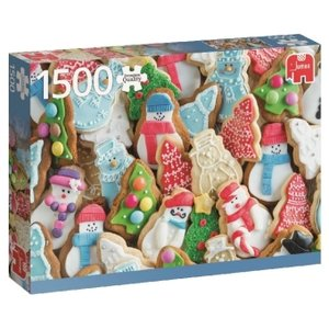 Weihnachtskekse - 1500 Teile Puzzle