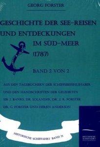 Geschichte der See-Reisen und Entdeckungen im Süd-Meer (1787) Ba