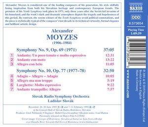 Sinfonien 9 & 10