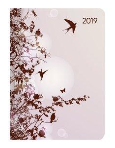Mini-Buchkalender Style Hummingbird Tree 2019