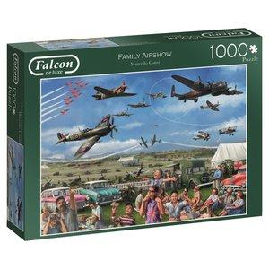 Falcon 11195 - De Luxe, Family Airshow, Puzzle, 1000 Teile