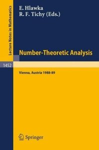 Number-Theoretic Analysis