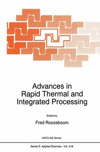 Advances in Rapid Thermal and Integrated Processing