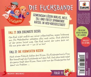 011/Fall 21: Der zerzauste Sessel/Fall 22: Die v