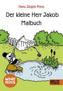 Der kleine Herr Jakob. Malbuch