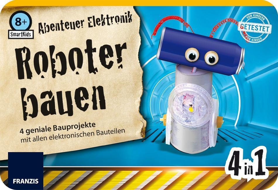 SmartKids Abenteuer Elektronik Büchsenroboter - zum Schließen ins Bild klicken