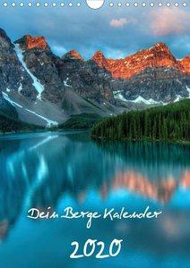 Dein Berge Kalender (Wandkalender 2020 DIN A4 hoch)