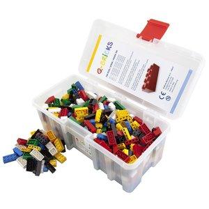 Bausteine Maxi Mix Box 750 Teile in Basic Farben in praktischer