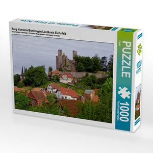 Burg Hanstein/Bornhagen/Landkreis Eichsfeld 1000 Teile Puzzle qu