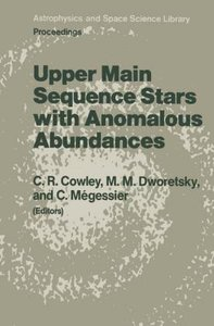 Upper Main Sequence Stars with Anomalous Abundances