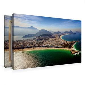 Premium Textil-Leinwand 75 cm x 50 cm quer Copacabana