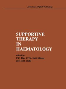Supportive therapy in haematology