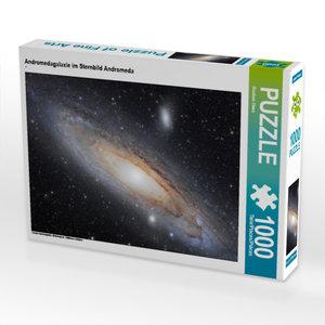 CALVENDO Puzzle Andromedagalaxie im Sternbild Andromeda 1000 Tei