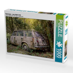 Rostlaube - Lada WAS 2102 1000 Teile Puzzle quer