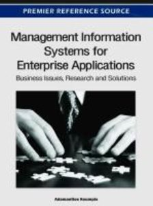 Management Information Systems for Enterprise Applications: Busi