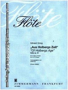 """""""Aus Holbergs Zeit"""" Suite op. 40"""