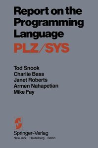 Report on the Programming Language PLZ/SYS
