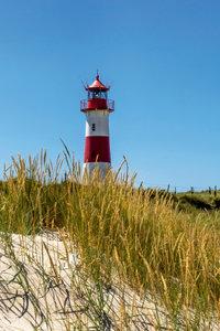 Premium Textil-Leinwand 60 cm x 90 cm hoch Leuchtturm