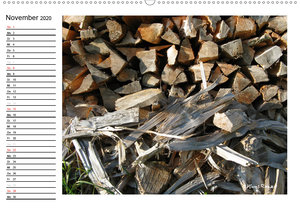 Holz - so vielfältig (Wandkalender 2020 DIN A2 quer)