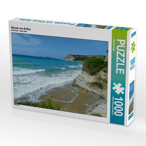 Strand von Arillas 1000 Teile Puzzle quer