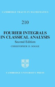 Fourier Integrals in Classical Analysis