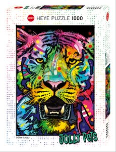 Russo, D: Wild Tiger Puzzle
