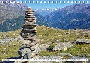 Stein auf Stein. Das Geheimnis der Steinmännchen (Tischkalender