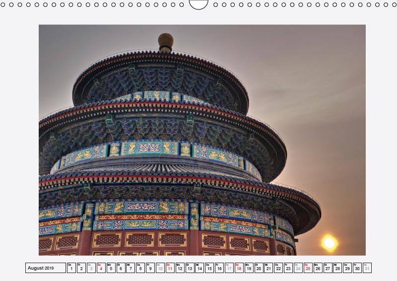 Historisches Peking (Wandkalender 2019 DIN A3 quer) - zum Schließen ins Bild klicken