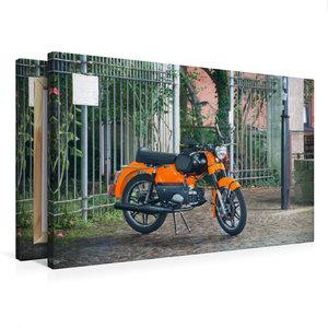 Premium Textil-Leinwand 75 cm x 50 cm quer Kreidler Florett GT B
