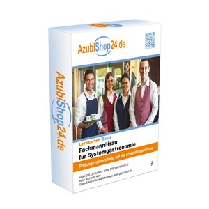 AzubiShop24.de Kombi-Paket Lernkarten Fachmann/-frau für Systemg