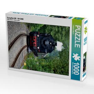Dampflok BR 184 DME 1000 Teile Puzzle hoch
