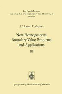 Non-Homogeneous Boundary Value Problems and Applications