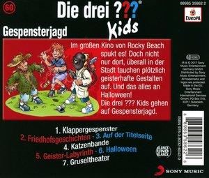 Die drei ??? Kids 60: Gespensterjagd (Audio-CD)