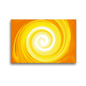 Premium Textil-Leinwand 45 cm x 30 cm quer Sonnenspiralen