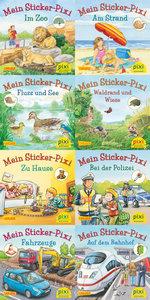 Pixi-Bundle 8er-Serie 234: Pixis neue Sticker-Bücher
