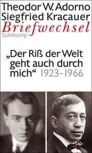 Briefwechsel 7. Theodor W. Adorno/Siegfried Kracauer. Briefwechs
