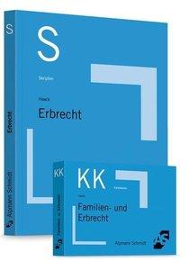Bundle Haack, Skript Erbrecht + Haack, Karteikarten Familien- un