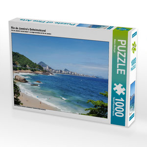CALVENDO Puzzle Rio de Janeiro\'s Geheimstrand 1000 Teile Lege-G