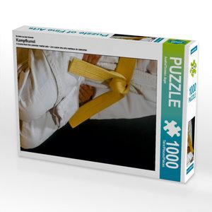 Ein Motiv aus dem Kalender Kampfkunst 1000 Teile Puzzle hoch